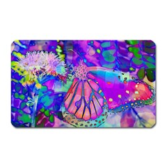 Psychedelic Butterfly Magnet (Rectangular)