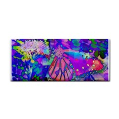 Psychedelic Butterfly Hand Towel
