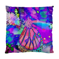 Psychedelic Butterfly Standard Cushion Case (One Side)