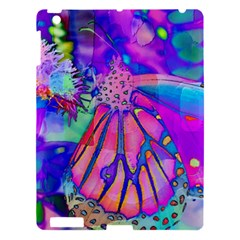 Psychedelic Butterfly Apple iPad 3/4 Hardshell Case