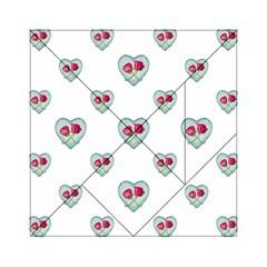 Love Ornate Motif Print Acrylic Tangram Puzzle (6  x 6 )