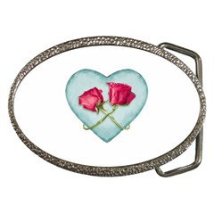 Love Ornate Motif  Belt Buckles