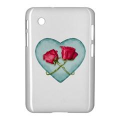 Love Ornate Motif  Samsung Galaxy Tab 2 (7 ) P3100 Hardshell Case