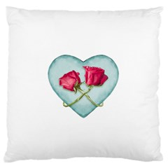 Love Ornate Motif  Standard Flano Cushion Case (Two Sides)