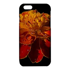 Marigold on Black iPhone 6/6S TPU Case