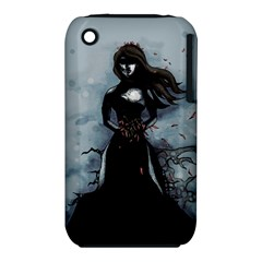 He Never Came Apple iPhone 3G/3GS Hardshell Case (PC+Silicone)