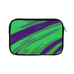Swish Green Blue Apple Ipad Mini Zipper Cases