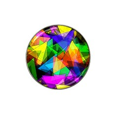 Colorful triangles                                                                  Hat Clip Ball Marker