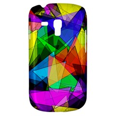 Colorful triangles                                                                  			Samsung Galaxy S3 MINI I8190 Hardshell Case