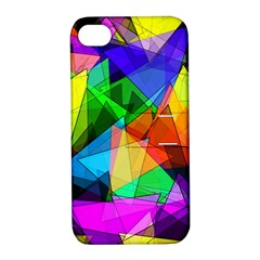 Colorful Triangles                                                                  apple Iphone 4/4s Hardshell Case With Stand