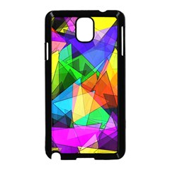 Colorful triangles                                                                  Samsung Galaxy Note 3 Neo Hardshell Case (Black)