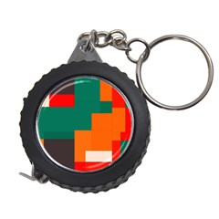 Rectangles and squares  in retro colors                                                                   Measuring Tape