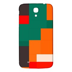 Rectangles and squares  in retro colors                                                                   			Samsung Galaxy Mega I9200 Hardshell Back Case