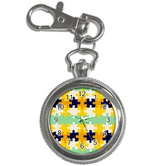Puzzle pieces                                                                     Key Chain Watch