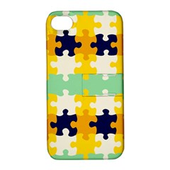 Puzzle Pieces                                                                     apple Iphone 4/4s Hardshell Case With Stand