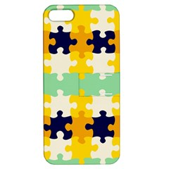 Puzzle pieces                                                                     			Apple iPhone 5 Hardshell Case with Stand