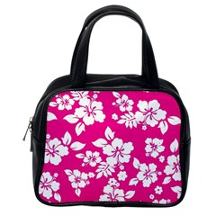 Pink Hawaiian Classic Handbags (one Side)