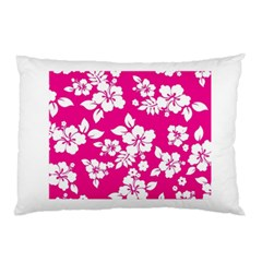 Pink Hawaiian Pillow Case (Two Sides)
