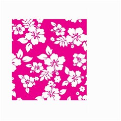 Pink Hawaiian Large Garden Flag (Two Sides)