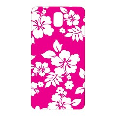 Pink Hawaiian Samsung Galaxy Note 3 N9005 Hardshell Back Case
