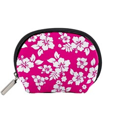 Pink Hawaiian Accessory Pouches (Small)