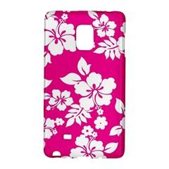 Pink Hawaiian Galaxy Note Edge