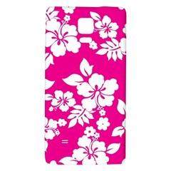 Pink Hawaiian Galaxy Note 4 Back Case