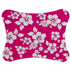 Pink Hawaiian Jigsaw Puzzle Photo Stand (Bow)