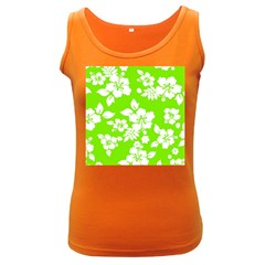 Lime Hawaiian Women s Dark Tank Top