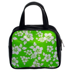 Lime Hawaiian Classic Handbags (2 Sides)