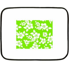 Lime Hawaiian Fleece Blanket (Mini)