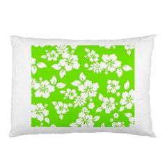 Lime Hawaiian Pillow Case (Two Sides)