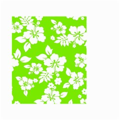 Lime Hawaiian Small Garden Flag (two Sides)