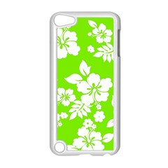 Lime Hawaiian Apple iPod Touch 5 Case (White)