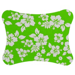 Lime Hawaiian Jigsaw Puzzle Photo Stand (Bow)