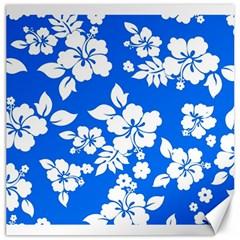 Blue Hawaiian Canvas 16  x 16