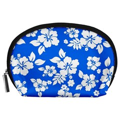 Blue Hawaiian Accessory Pouches (Large)