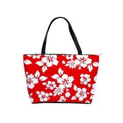 Red Hawaiian Shoulder Handbags