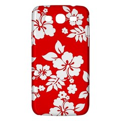 Red Hawaiian Samsung Galaxy Mega 5.8 I9152 Hardshell Case