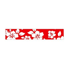 Red Hawaiian Flano Scarf (Mini)