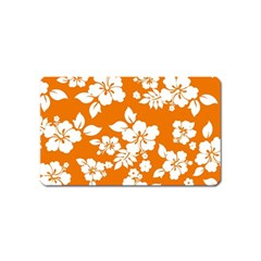 Orange Hawaiian Magnet (Name Card)