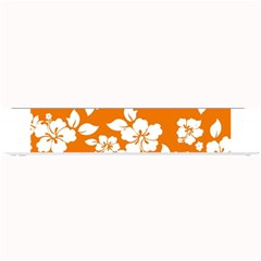 Orange Hawaiian Small Bar Mats