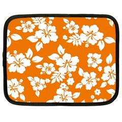 Orange Hawaiian Netbook Case (xxl)