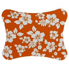 Orange Hawaiian Jigsaw Puzzle Photo Stand (Bow)