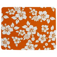 Orange Hawaiian Jigsaw Puzzle Photo Stand (Rectangular)