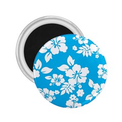 Light Blue Hawaiian 2.25  Magnets
