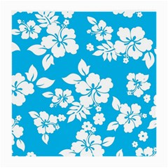 Light Blue Hawaiian Medium Glasses Cloth (2-Side)