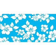 Light Blue Hawaiian YOU ARE INVITED 3D Greeting Card (8x4)