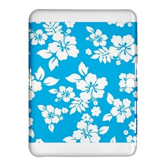 Light Blue Hawaiian Samsung Galaxy Tab 4 (10.1 ) Hardshell Case