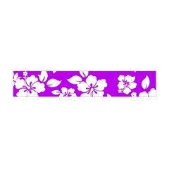 Purple Hawaiian Flano Scarf (Mini)